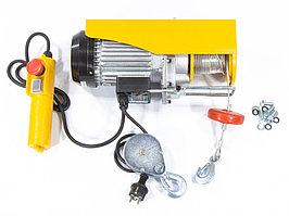 Тельфер электрический TF-500, 0,5 т, 1020 Вт, высота 12 м, 10 м/мин Denzel