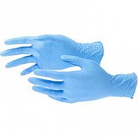 Перчатки хозяйственные, нитриловые 100 шт, L