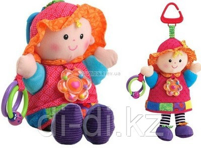 Кукла-погремушка Эмилия. Lamaze 0+.