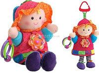 Кукла-погремушка Эмилия. Lamaze 0+., фото 1