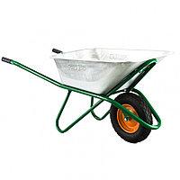 Тачка садово-строительная, усиленная, грузоподъемность 200 кг, объем 90 л Palisad, фото 1