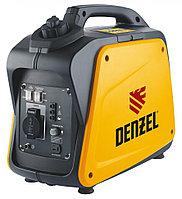 Генератор инверторный GT-1300i, X-Pro 1.3 кВт, 220 В, бак 3 л, ручной старт Denzel