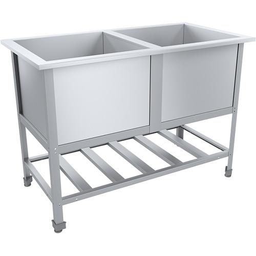 Ванна моечная ЭКОНОМ ЦК ВМО2-630ЭЦК-М 1420х730х870(890) мм