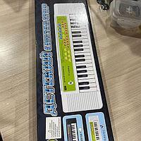 Детский синтезатор с микрофоном 3153
