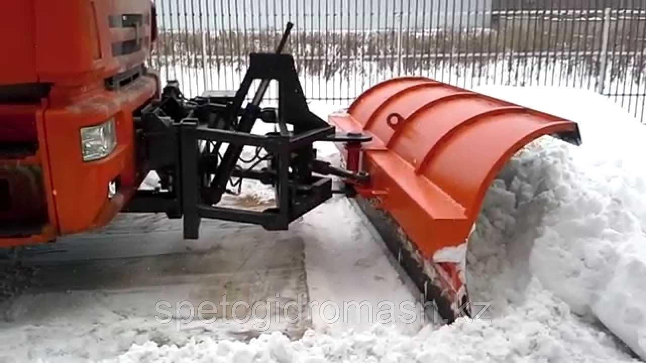 Отвал снегоуборочный городской механический поворот КамАЗ