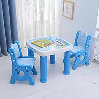 Комплект детской мебели парта и два стула Best baby