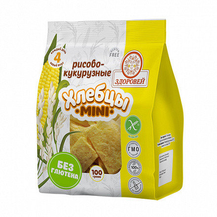 Хлебцы Рисово-Кукурузные Мини