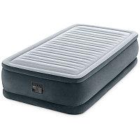 Односпальная надувная кровать со встроенным насосом, Intex 64412