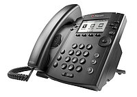 SIP телефон PolycomVVX 300 (2200-46135-025), фото 1