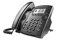 IP телефон Polycom VVX 300 and Polycom UCS Lync License (2200-46135-018), фото 1