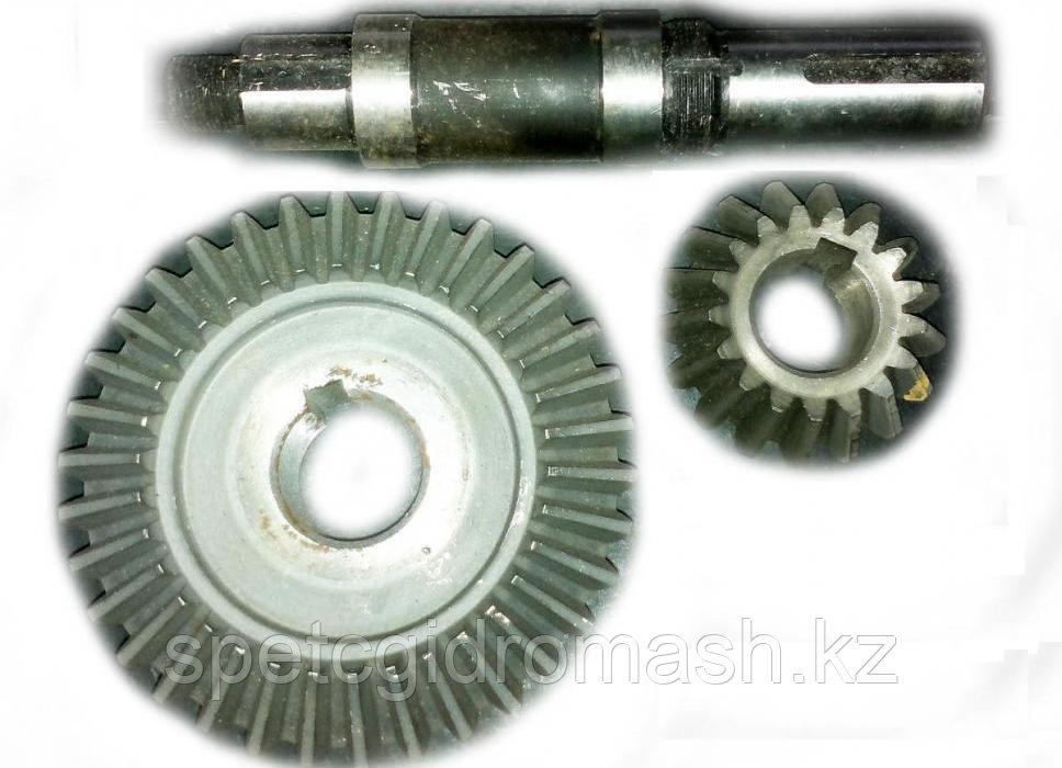 Шестерня коническая Z 34 (34/17) щеточного оборудования