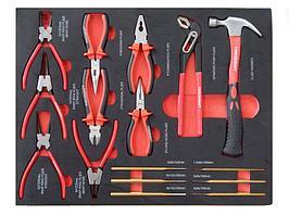 Forcekraft Набор шарнирно-губцевого и ударного инструмента16 предметов(съемники стоп.-х