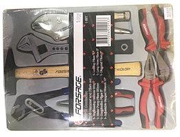 Forsage Набор шарнирно-губцевого инструмента,7 предметов(молоток-300гр;гейфер. захват,ключ разв-ой,пассатижи
