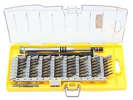 BaumAuto Отвертка ювелирная телескопическая с гибким удлинителем,комплектом бит и головок (59 предметов) в