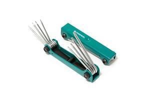 Forsage Набор ключей TORX складной 8 предметов(T5H-T10H, T15H, T20H c отверстием) Forsage F-5087TF 27339
