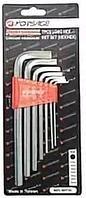 Forsage Набор ключей Г-образных 6-гранных длинных 7 предметов(2.5, 3-6, 8, 10мм) в пластиковом держателе