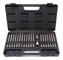 ROCKFORCE Набор бит с битодержателями 40 предметов (10мм)(75/30мм:T20-T55,H4-H12,M5-M12) в пластиковом кейсе