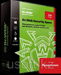 Dr.Web Security Space. Продление