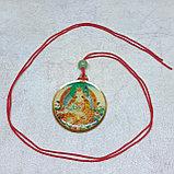 Тибетский оберег Монограмма Калачакры/ Будда Ваджрасаттва, фото 3