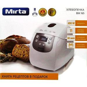 Хлебопечка многофункциональная Mirta BM165 с ЖК-дисплеем [11 программ]