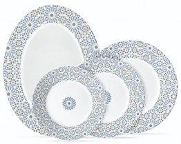 Столовый сервиз Luminarc Esse Shiraz Blue19 предметов на 6 персон