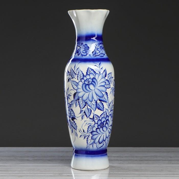"""Ваза напольная """"Илона"""", роспись, 62 см, микс, керамика"""