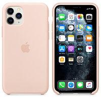 Apple iPhone 11 Pro Silicone Case Pink Sand аксессуары для смартфона (MWYM2ZM/A)
