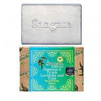 Мыло Sangam Лаванда и Тулси ручной работы 100.0 для всех типов кожи