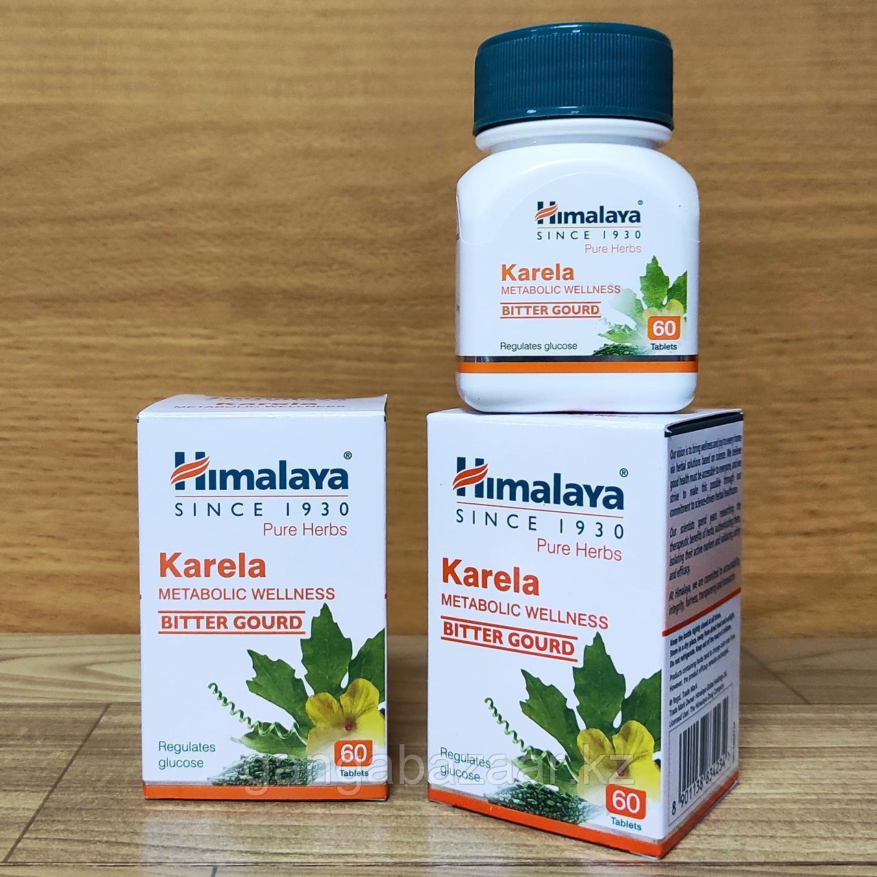 Карела Хималая (Karela, Himalaya) при сахарном диабете, для улучшения обмена веществ, 60 табл