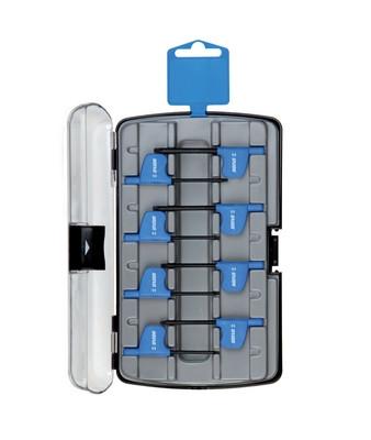 Набор ключей с профилем TXP (TORX Plus) с рукояткой, в пластиковом футляре - 221TXPPB3 UNIOR