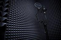 Звукоизоляция, акустический поролон пирамида