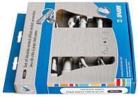 Набор ключей торцевых двойных изогнутых в картонной упаковке - 176CS6 UNIOR