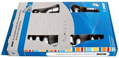 Набор ключей торцевых двойных изогнутых в картонной упаковке - 176CS11 UNIOR