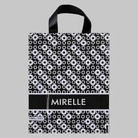 Пакет 'Мирель', полиэтиленовый с петлевой ручкой, 28x34 см, 60 мкм (комплект из 25 шт.)