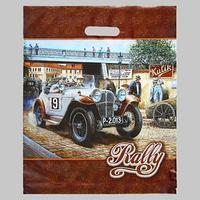 Пакет 'Ралли', полиэтиленовый с вырубной ручкой, 40 х 47 см, 45 мкм (комплект из 50 шт.)