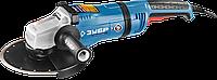 Машина углошлифовальная, ЗУБР, УШМ-П230-2400 ПВ серия «ПРОФЕССИОНАЛ»
