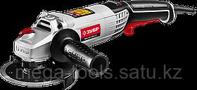 Машина углошлифовальная, ЗУБР, регулировка оборотов, УШМ-125-1200 ЭМ3