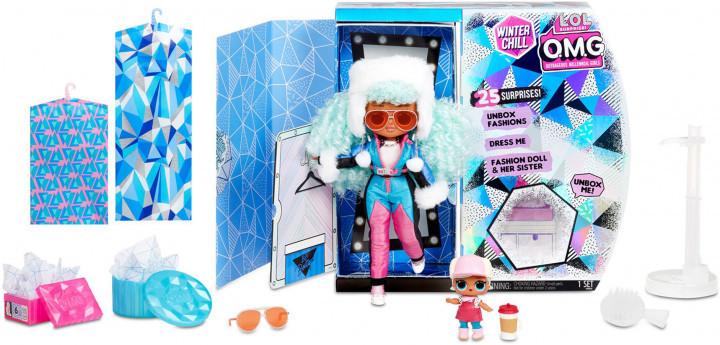LOL OMG Зимний Мороз Набор из 2 кукол ЛОЛ Ледяная леди и Бррр Би Би, Icy Gurl и Brrr B.B. - фото 2