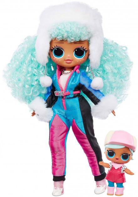 LOL OMG Зимний Мороз Набор из 2 кукол ЛОЛ Ледяная леди и Бррр Би Би, Icy Gurl и Brrr B.B. - фото 3