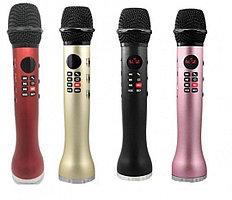 Караоке микрофон L598 100% оригинал