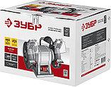Станок точильный, ЗУБР, увеличенная мощность + лампа подсветки, ЗТШМ-200-450, фото 2