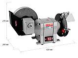 Станок точильный, ЗУБР, увеличенная мощность, ЗТШМ-150/200У, фото 2