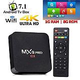 Приставка для телевизора Android Smart TV-Box MXQ-4K PRO, фото 3