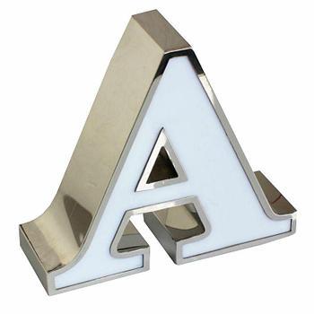 Буквы из нержавеющей стали