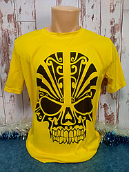 "Футболка ""Прима Лето"" 50(L) ""Unisex"" цвет: желтая канарейка"