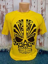 "Футболка ""Прима Лето"" 52(XL) ""Unisex"" цвет: желтая канарейка"