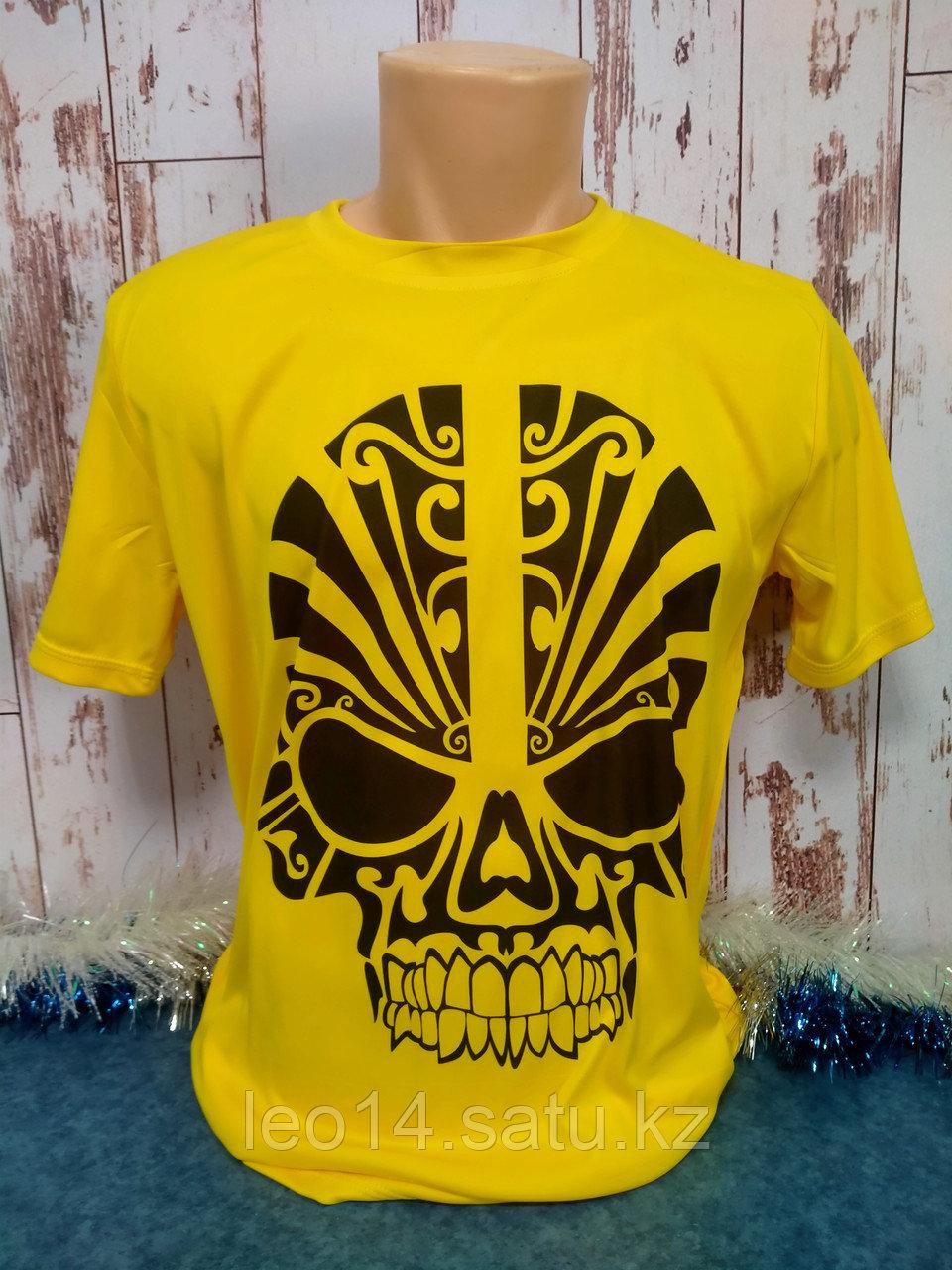 "Футболка ""Прима Лето"" 584(XL) ""Unisex"" цвет: желтая канарейка"