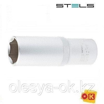Головка удлиненная, 19 мм, 6-гранная, 1/2. STELS, фото 2