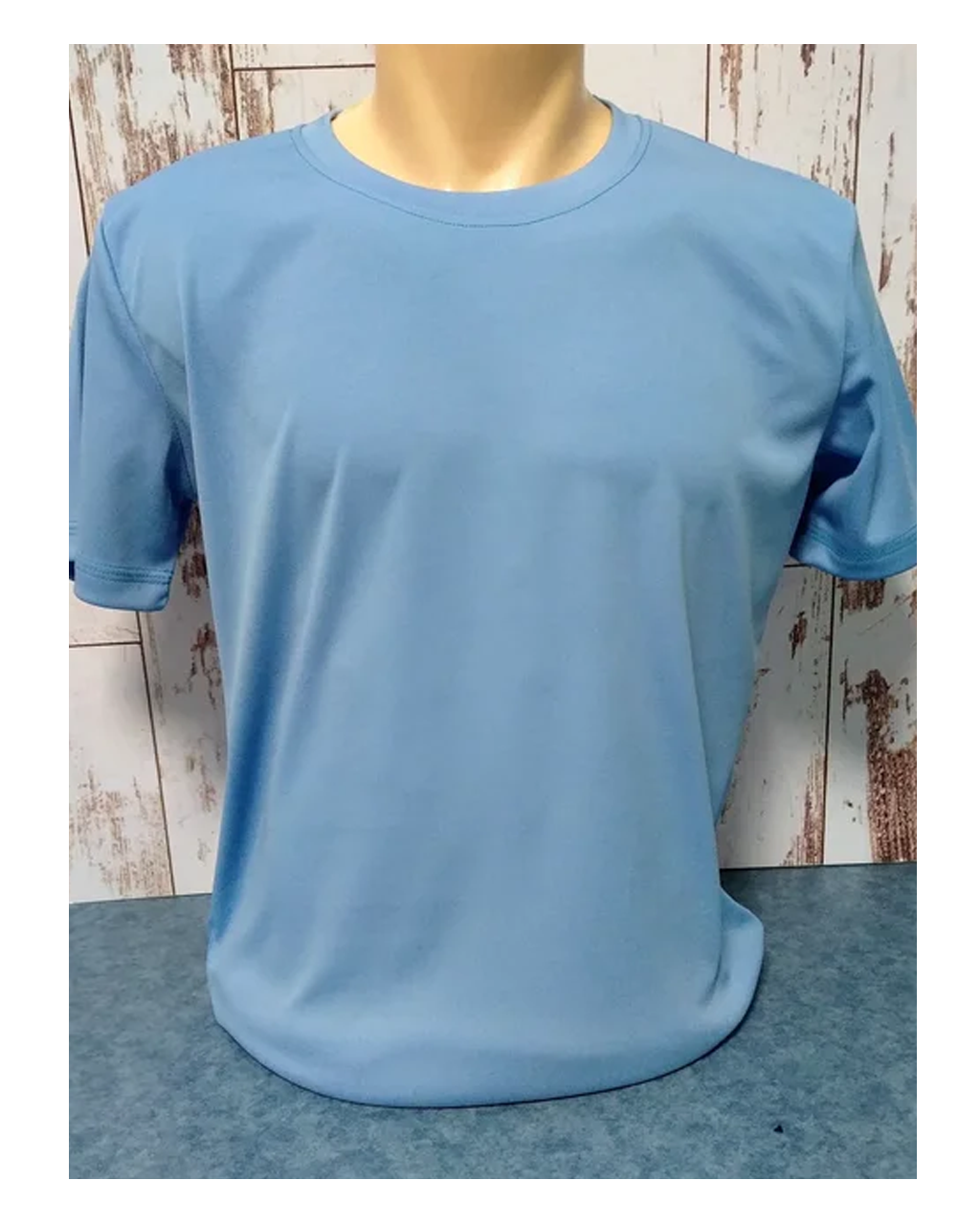 "Футболка ""Прима Лето"" 38(4XS), ""Style woman"" цвет: голубой филин"