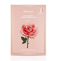 Тканевая маска с экстрактом дамасской розы